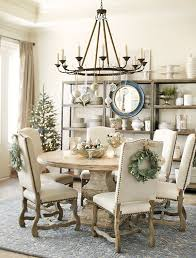 Best  Christmas Dining Rooms Ideas On Pinterest Rustic Round - Kitchen table decorations