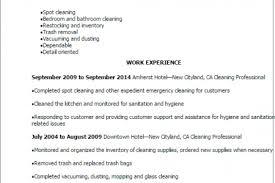 Cleaning Resume Sample by Dry Cleaner Resume Sample Reentrycorps