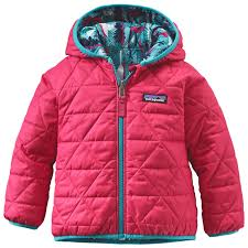 patagonia baby reversible puff ball jacket kids free uk delivery