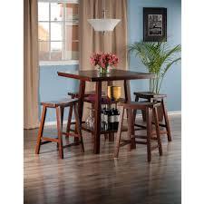 amazon com winsome wood orlando 5 piece set high table 2