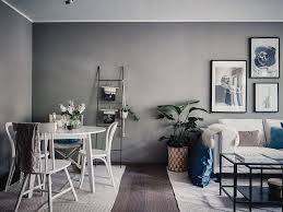 Small Living Dining Room Ideas Small Living Room In Grey And White Industrial Decor Pinterest