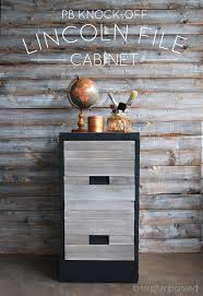 Knock Off Pottery Barn Furniture Pottery Barn Knock Off File Cabinet Themed Furniture Makeover