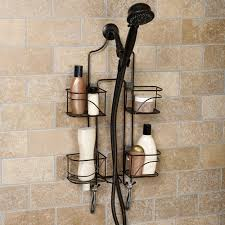 hawthorne expanding shower caddy bronze walmart
