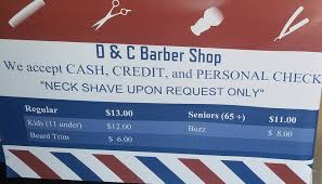 d c barber shop home