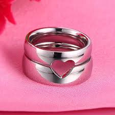 love rings pink images New creative sweet love puzzle couple rings couple rings jpg
