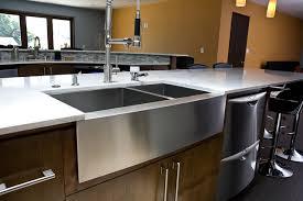 Stainless Steel Farm Sinks For Kitchens Kitchen Sink Styles Hatchett Design Remodel