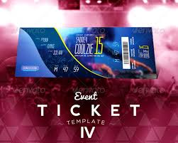 ticket template free download 20 best event concert ticket psd templates