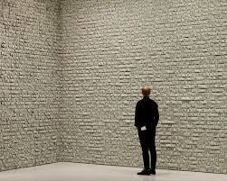 hans peter feldmann hangs 100 000 in dollar bills on the walls of