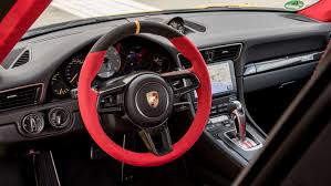 porsche steering wheel porsche open to autonomous track mode will be u0027one of the last