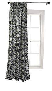 Waverly Curtains And Drapes Amazon Com Trend Lab Waverly Rise And Shine Window Drape Black