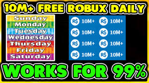 roblox how to get 10m free robux daily no hacks legit works