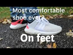 Most Comfortable Sneakers Ever Is The Adidas Eqt 93 17 The Most Comfortable Shoe Ever On Feet
