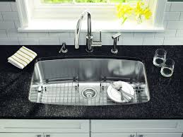 Single Tub Kitchen Sink Granite Stainless Steel Sink