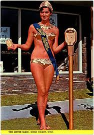 1960s gold coast meter maid