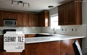 Home Depot Kitchen Makeover - backsplash subway kitchen tiles backsplash how to install a