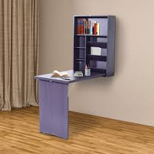 Computer Desks With Storage Wall Mount Writing Table Convertible Folding Computer Desk Storage