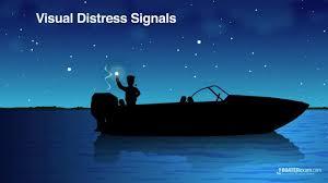 boating navigation visual distress signals