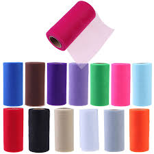 tulle rolls lot 6inch tissue tulle roll paper wedding decoration spool craft