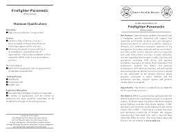 Example Artist Resume Fire Captain Resume Resume Cv Cover Letter