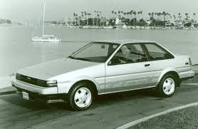 toyota corolla 1985 1984 1987 toyota corolla fifth 5th generation toyota