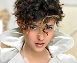 puffy woman curly hair trendy women 30 curly short hair cut types