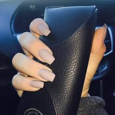 matt colored acrylic nails beauty pinterest acrylics