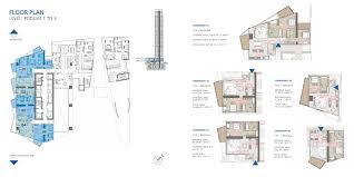 Podium Floor Plan by Stella Maris Tower Floor Plans Dubai Marina
