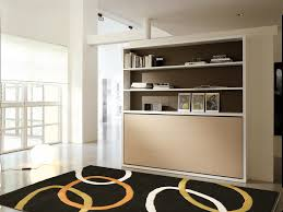 pull down double bed ulisse desk by clei design giulio manzoni