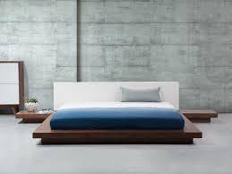chambre style japonais lit lit style japonais lit 180x200 cm lit avec sommier lit