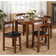 dining room sets for apartments 5 piece round dining table set chair small apartment furniture