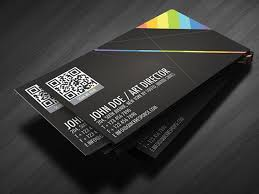 Business Cards Ideas For Graphic Designers Business Card Ideas Qr Codes Krissart Marketing Design