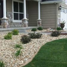 where to buy landscaping rocks with white brown gravels small