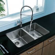 best stainless steel undermount sink impressive undermount double bowl kitchen sink best vigo vg2918 18