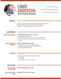 Objective In Resume For Experienced Software Engineer Free by Classic Resume Template Resume Template 120120 Classic Resume