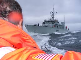 sheriff u0027s boat participates in joint exercise with canadian navy