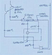 contactor and light wiring diagram wiring diagrams