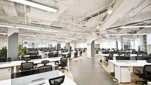 open office lighting design office building standard