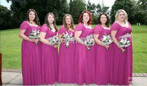 plus size bridesmaid dresses with sleeves custom made sale plus size pink chiffon bridesmaid dress