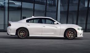 cheap 4 door sports cars the 707hp dodge charger srt hellcat is the fastest saloon in the world