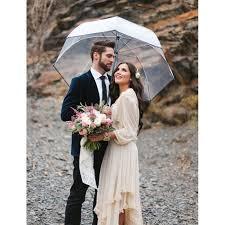 parapluie mariage grand parapluie cloche transparent rue du parapluie