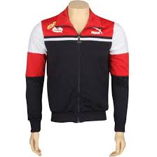 mc jacket puma mc shan track jacket red navy