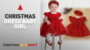 Top Christmas Dress Baby Girl Ideas TRENDINAO Baby Girls Red Lace