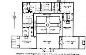 style home plans with courtyard central courtyard floor plans free courtyard house floor plans