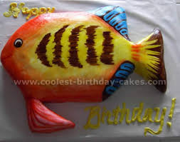 Coolest Fish Cake Ideas For Your Best Homemade Birthday Cake