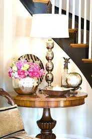 foyer table ideas pinterest decorated mix chrome mercury entryway