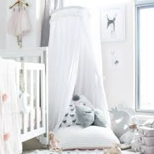 White Bed Canopy Grey Bed Canopy Lark