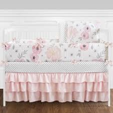 Pink And Black Crib Bedding Sets Pink And Black Baby Bedding Sets