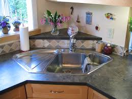 cabinet triangle kitchen sink kitchen kitchen island ideas diy blanco corner sink raised back triangle laminate shaped kitchen sinks trash wire basket full