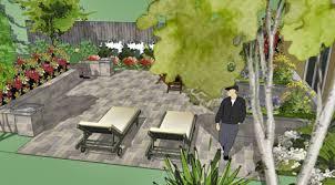 Backyard Pavers Cost by Two Level Bluestone Patio Costs