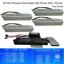 led aquarium light with timer high quality 120w wireless dimmable led aquarium light driver with